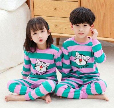 Белье для всей семьи, от лялечки до дедушки! Качество 5+ — Детские пижамы с длинным рукавом — Одежда для дома