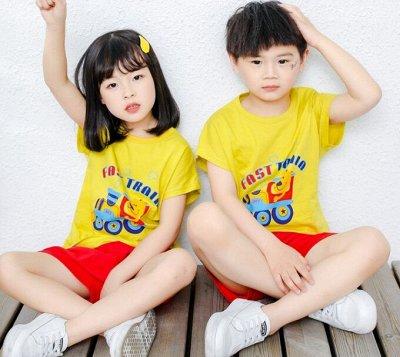 Бельё для всей семьи - детям, подросткам, папам, мамам — Детские пижамы с коротким рукавом — Одежда для дома