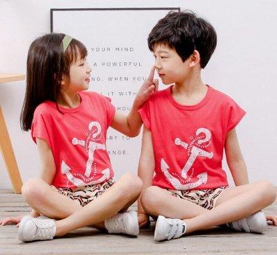 Белье для всей семьи, от лялечки до дедушки! Качество 5+ — Детские пижамы с коротким рукавом — Одежда для дома