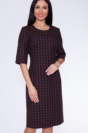 #23158 Платье (Filgrand) Коричневый/черный