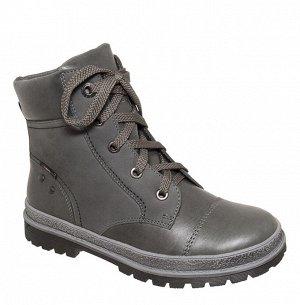 7-1273 серый хром (38-40) 6 Ботинки зимние...