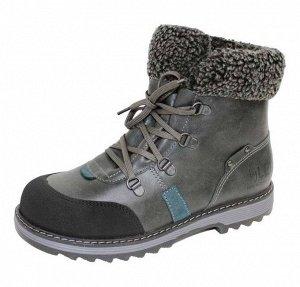 4-1556 черный (33-36) 6 Ботинки зимние Лель