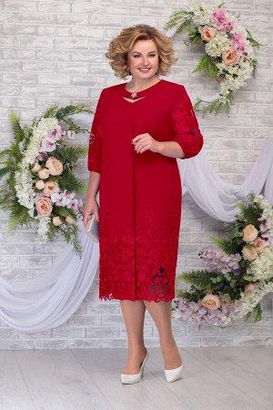 Платье Ninele 5786 красный