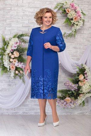 Платье Ninele 5786 василек
