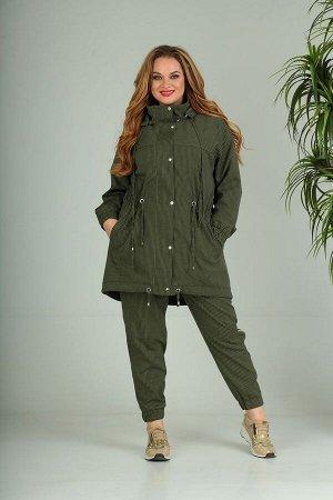 Брюки, куртка SandyNa Артикул: 13700 хаки
