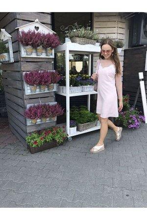 Накидка, платье PUR PUR 600 св.розовый