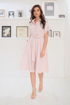 Платье LadisLine 1224 розовый