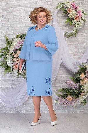 Жакет, платье Ninele Артикул: 2243 голубой