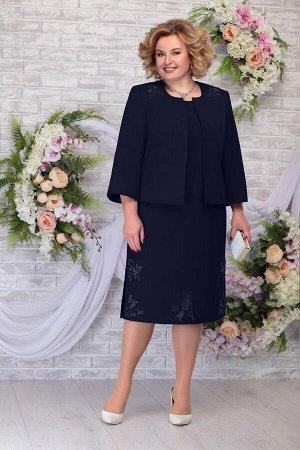 Жакет, платье Ninele Артикул: 2243 синий