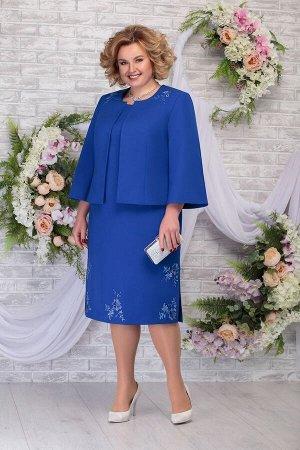 Жакет, платье Ninele Артикул: 2243 василек