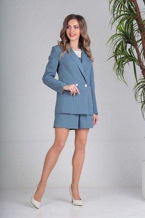 Жакет, шорты SandyNa Артикул: 13691 голубой