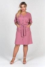 Платье Эльмира №2.Цвет:розовый