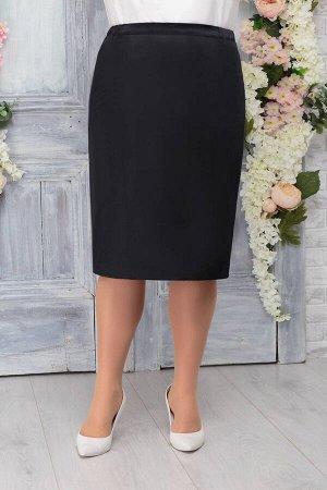 Юбка Юбка Ninele 5766 черный  Сезон: Весна Рост: 164  Классическая черная юбка на подкладке отличный выбор для делового и офисного стиля. Она станет базовой вещью в женском гардеробе. Ее можно удачно