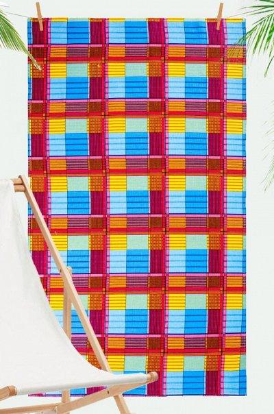 Яркий Трикотаж для всей семьи 57! — Для дома. Текстиль для бани. Полотенца пляжные — Полотенца