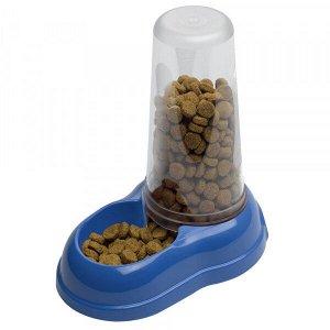 AZIMUT 1500 Механическая пластиковая кормушка для воды и сухого корма. для собак и кошек