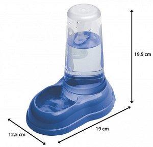 AZIMUT 600 PUPPY Механическая пластиковая кормушка для воды и сухого корма. для собак и кошек