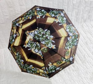 Зонт женский, полу-автомат