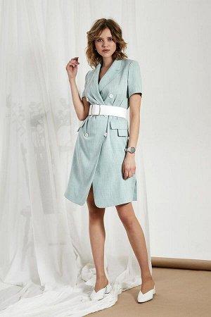 Платье Платье Divina 1.284  Состав ткани: Вискоза-55%; ПЭ-42%; Эластан-3%;  Рост: 164 см.  Лаконичное и женственное платье пиджак - лидер среди моделей. Эта универсальная модель не имеет ограничений