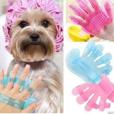 Здесь есть всё или почти. Новые заварники для чая... — Перчатка для чесания собак и кошей — Аксессуары