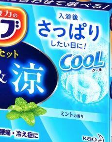 Соль для ванн Kao освежающая, расслабляющая, с ароматом мяты,  1 шт