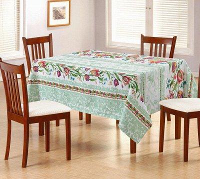 ECOLAN - домашний текстиль, яркие принты! Наматрасники! — Скатерти — Клеенки и скатерти