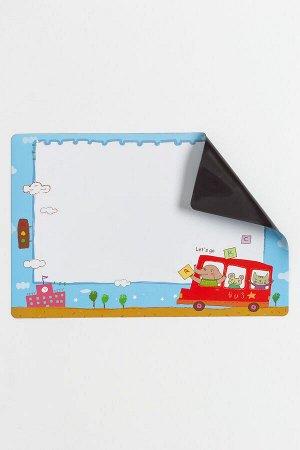 Магнитный лист для рисования 23*15,2 см (SF-5566) №4