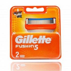Gillette FUSION (2шт) EvroPack orig
