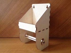 Полочка с держателем для туалетной бумаги
