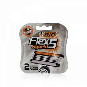 Сменные кассеты Bic Flex 5 HYBRID (2 шт) RusPack orig