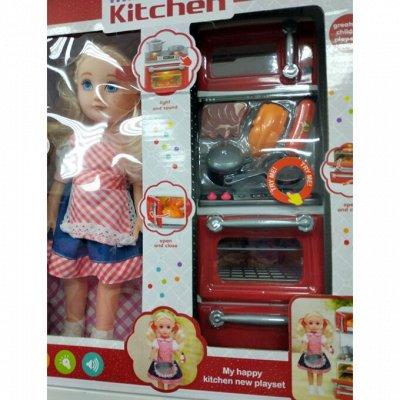 Распродажа тепленького. Демократичные цены. Колготки,носки.. — Кукла и кухня в наборе — Игровая мебель