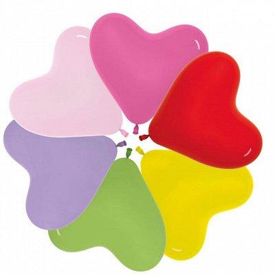 ♦ Праздник каждый день🎉🎈🎁 - 17 — Шары воздушные без рисунка — Воздушные шары, хлопушки и конфетти