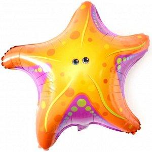 "15211, B0537 Шар-фигура, фольга, ""Морская звезда"" (Falali), 26""/66 см"