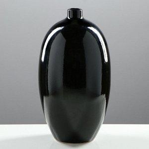 """Набор ваз """"Агия"""". цвет черный. 24/33/41 см. керамика"""