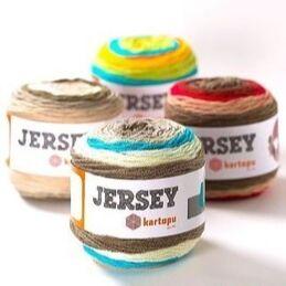 Все для творчества и рукоделия в наличии, заказы от 150 руб. — Пряжа для вязания Kartopu Jersey  — Пряжа