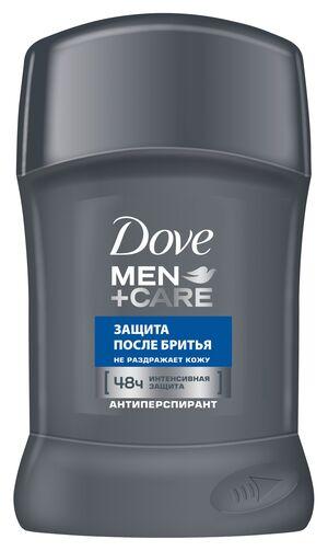 NEW Део стик DOVE 50мл Защита после бритья Мужской