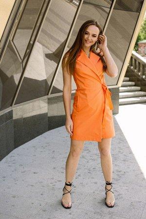 Платье Платье Pur Pur 01-604/5  Состав: ПЭ-27%; Спандекс-4%; Хлопок-69%; Сезон: Весна-Лето Рост: 170  Летнее платье-жилет.