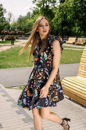 Платье Платье Pur Pur 01-817  Состав: Хлопок-100%; Сезон: Весна-Лето Рост: 170  Летнее платье из хлопка.