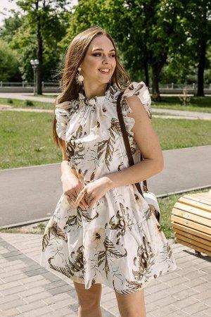 Платье Платье Pur Pur 01-817/1  Состав: Хлопок-100%; Сезон: Весна-Лето Рост: 170  Летнее платье из хлопка.