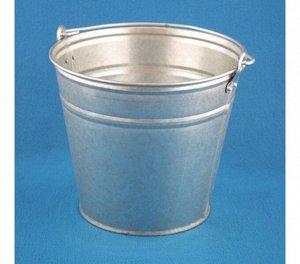 Ведро Ведро  9,0л б/к оцинк.  ТУ д/хранения,переноски сыпучих,кусковых,пастообразных материалов