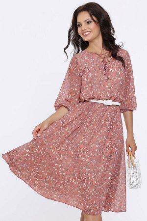 Платье Девушка мечты, очарование с ремешком