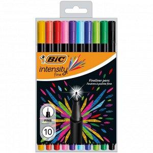 Капиллярная ручка BIC Intensity Fine Блистер x10