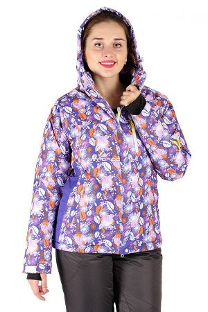Куртка горнолыжная женская фиолетового цвета 15020F
