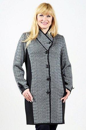 Пальто 2990 К (без подкладки)  Черный