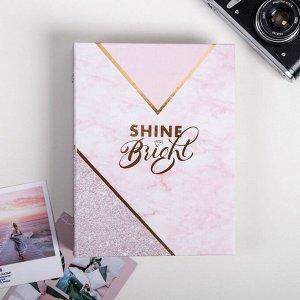 Фотоальбом Shine Bright 200 фото. 25.5х18х5 см