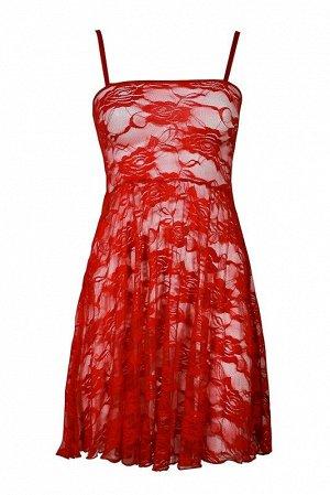 Сорочка женская, цвет красный