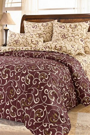 Комплект постельного белья КПБ 008 сатин (Вензель)