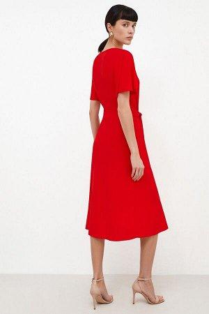 Платье жен. Morbius красный