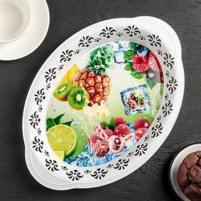 Красивая Посуда.Сервировка,Блюда,Тарелки.  — Подносы — Посуда