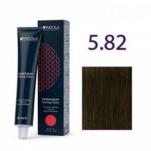 ИНДОЛА 'RED&FASHION' 5.8 Светлый коричневый шоколадный 60мл.