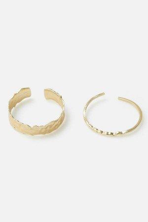 Набор из 2 браслетов жен. Ungaro2 светло-золотой